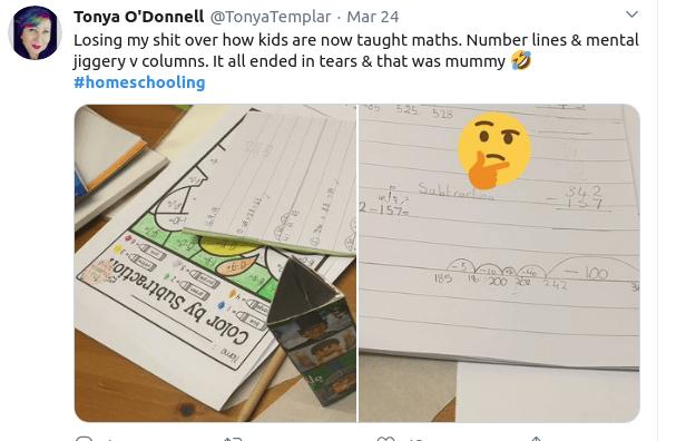 Τετράδιο με ασκήσεις μαθηματκών για μικρά παιδιά