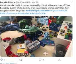 Ακατάστατο παιδικό δωμάτιο