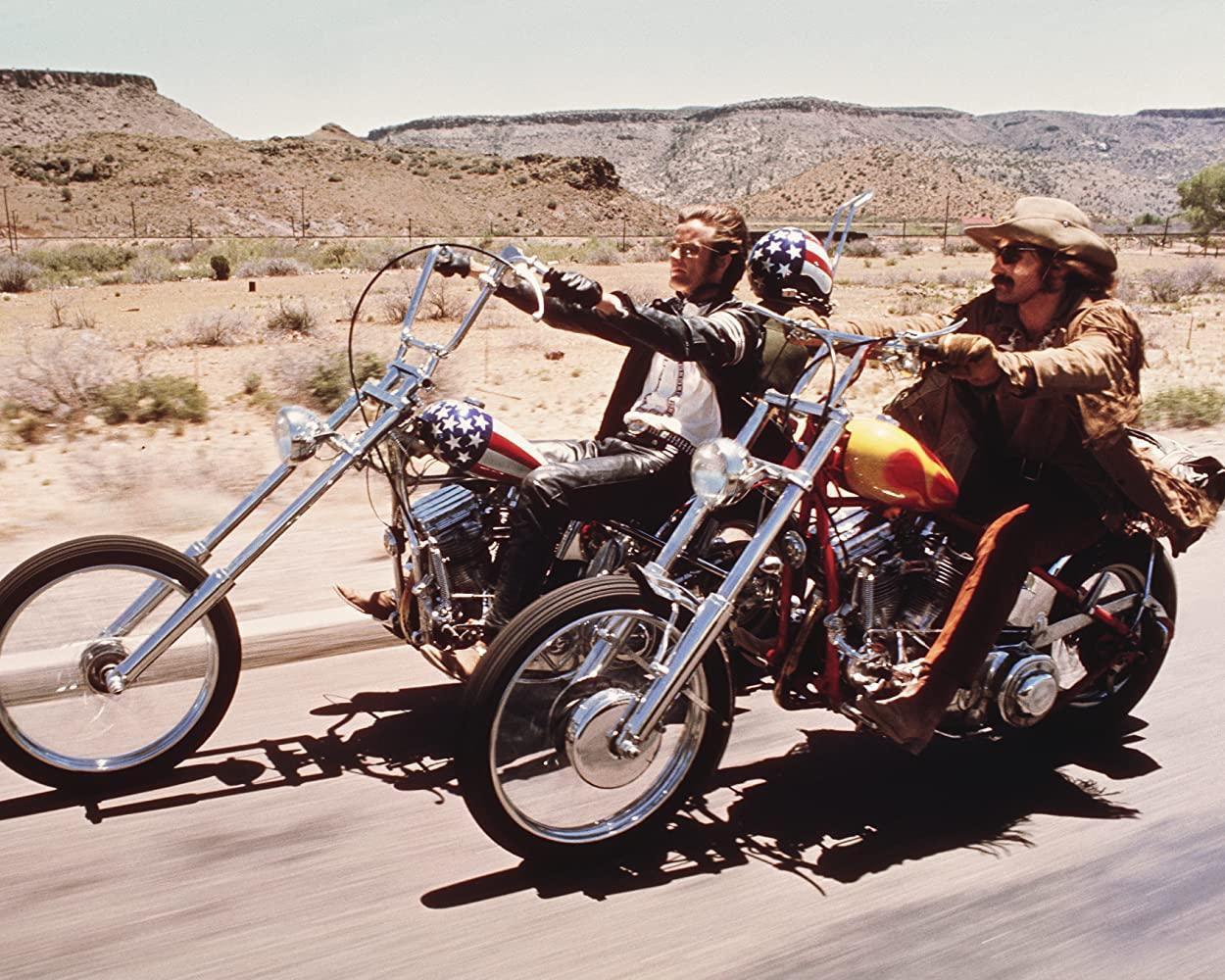 στιγμιότυπο από την ταινία Easy Rider