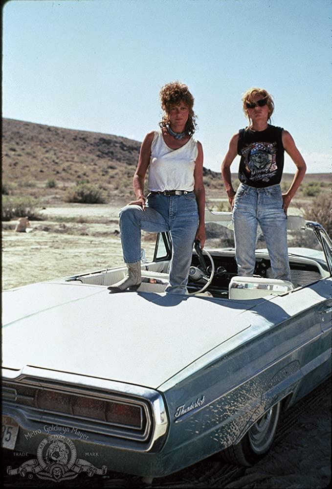 στιγμιότυπο από την ταινία Thelma & Louise