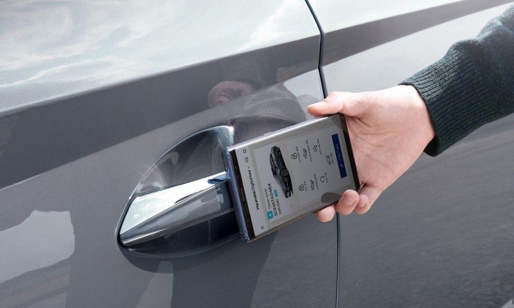 αυτοκίνητο που ξεκλειδώνει με iphone
