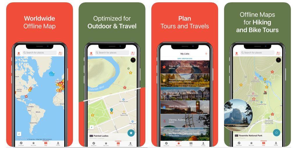 Δείχνει πως είναι το app Citymaps2Go για εκείνους που ταξιδεύουν πολύ
