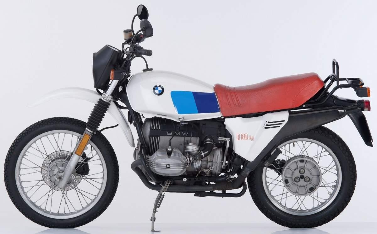μια BMW R 80 G/S
