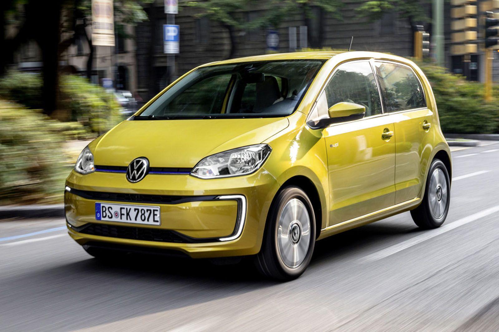 κίτρινο VW e-up