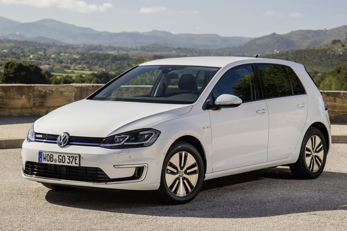 λευκό VW e-golf