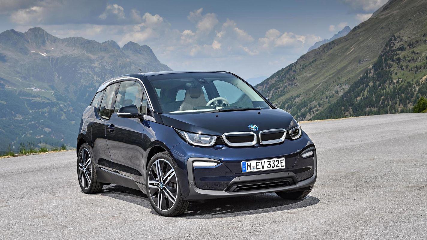 μαύρη BMW i3