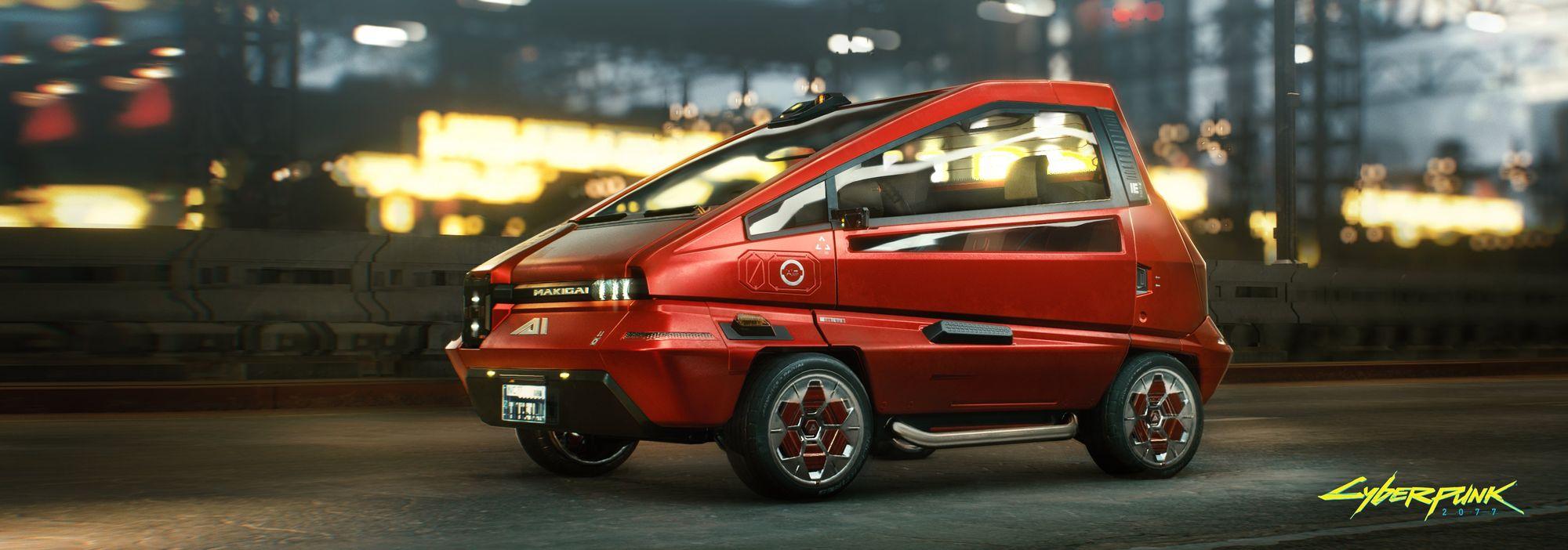 Το μικρό αυτοκίνητο Makigai maimai βγαλμένο από το μέλλον