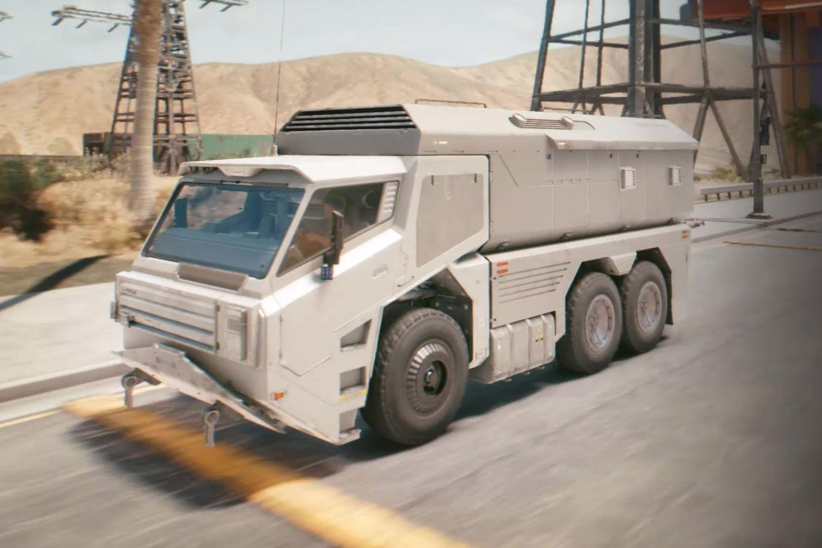 Το στρατιωτικό όχημα που πολλοί αγάπησαν, το Militech Behemoth