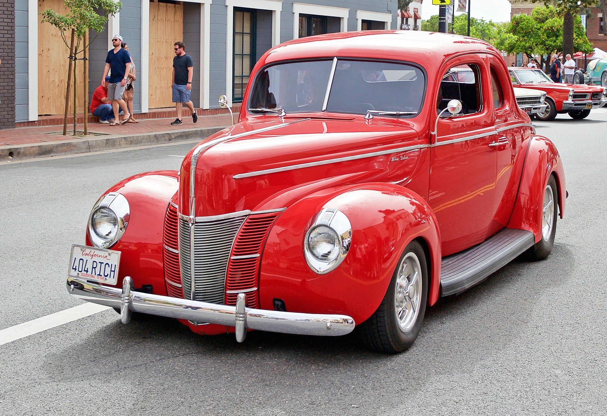 Ford Coupe από το videoclip ΖΖ Top για το τραγούδι Gimme All Your Lovin