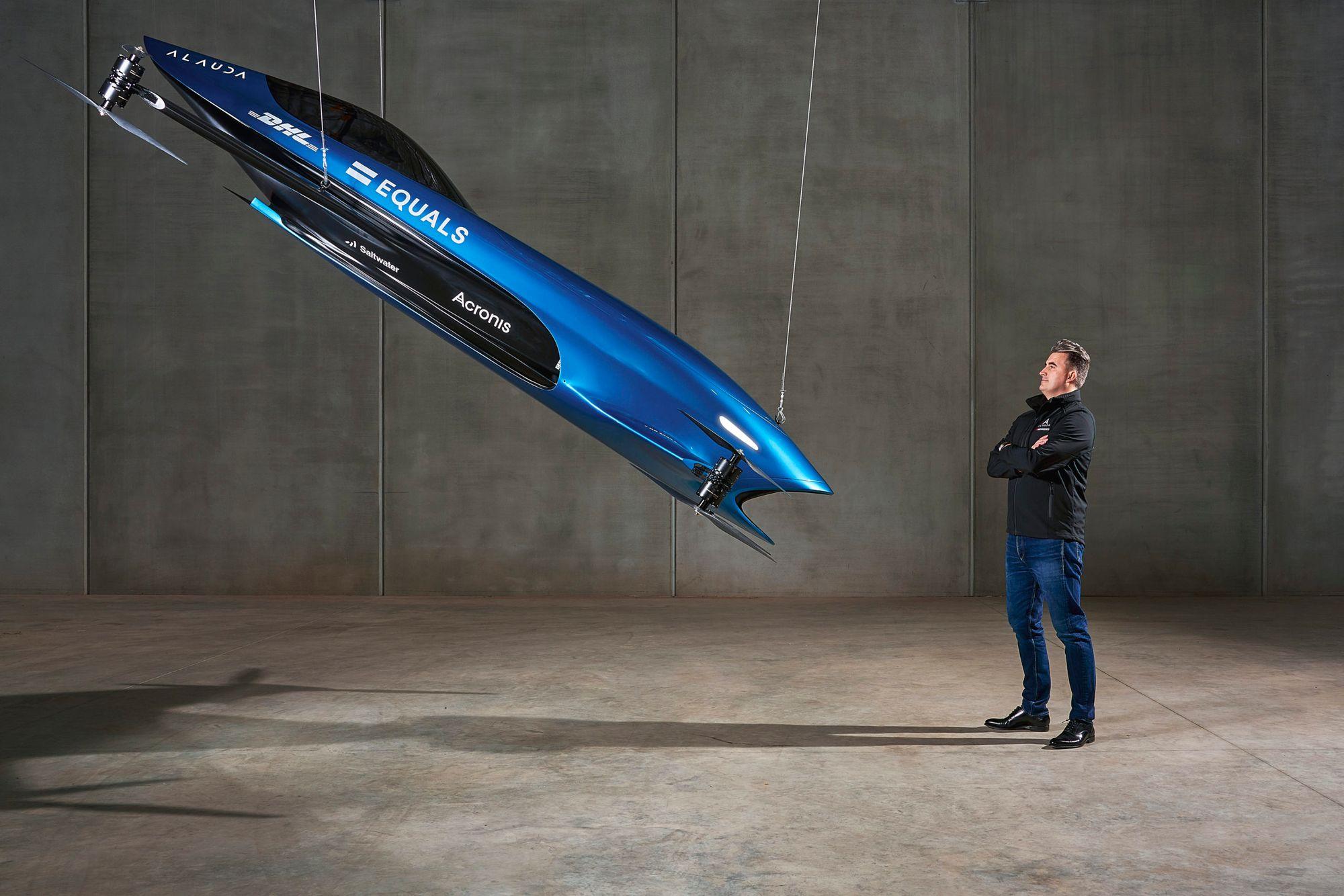 Ο Matthew Pearson, ιδρυτής της Airspeeder και Alauda Aeronautics.