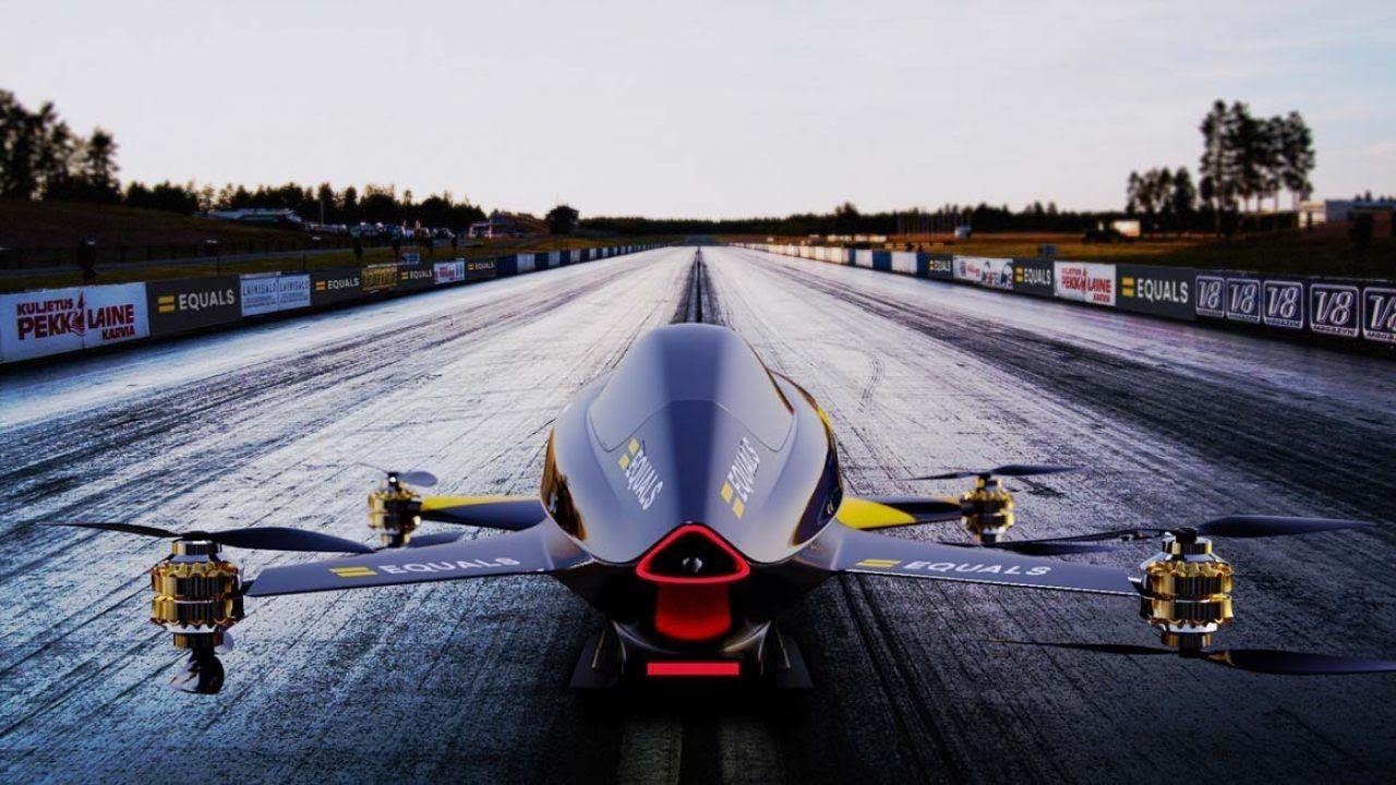 Το ηλεκτρικό ιπτάμενο αυτοκίνητο MK3 έτοιμο για απογείωση