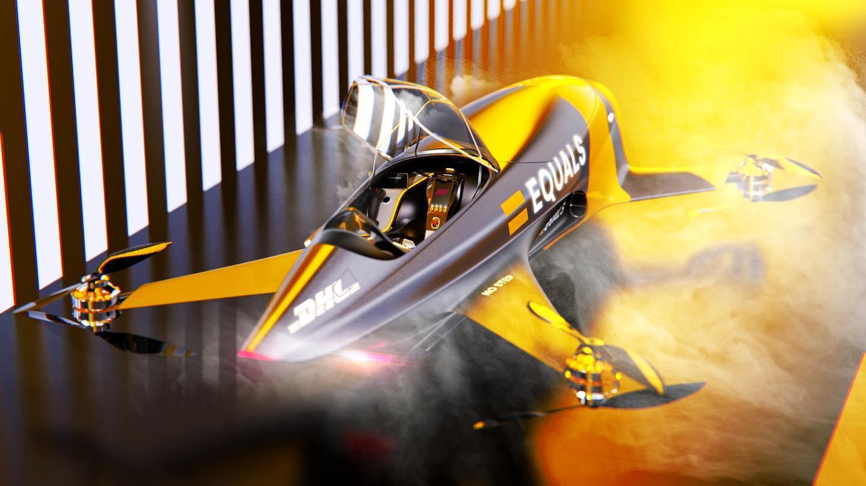 Το πιο προηγμένο μοντέλο Airspeeder, MK4