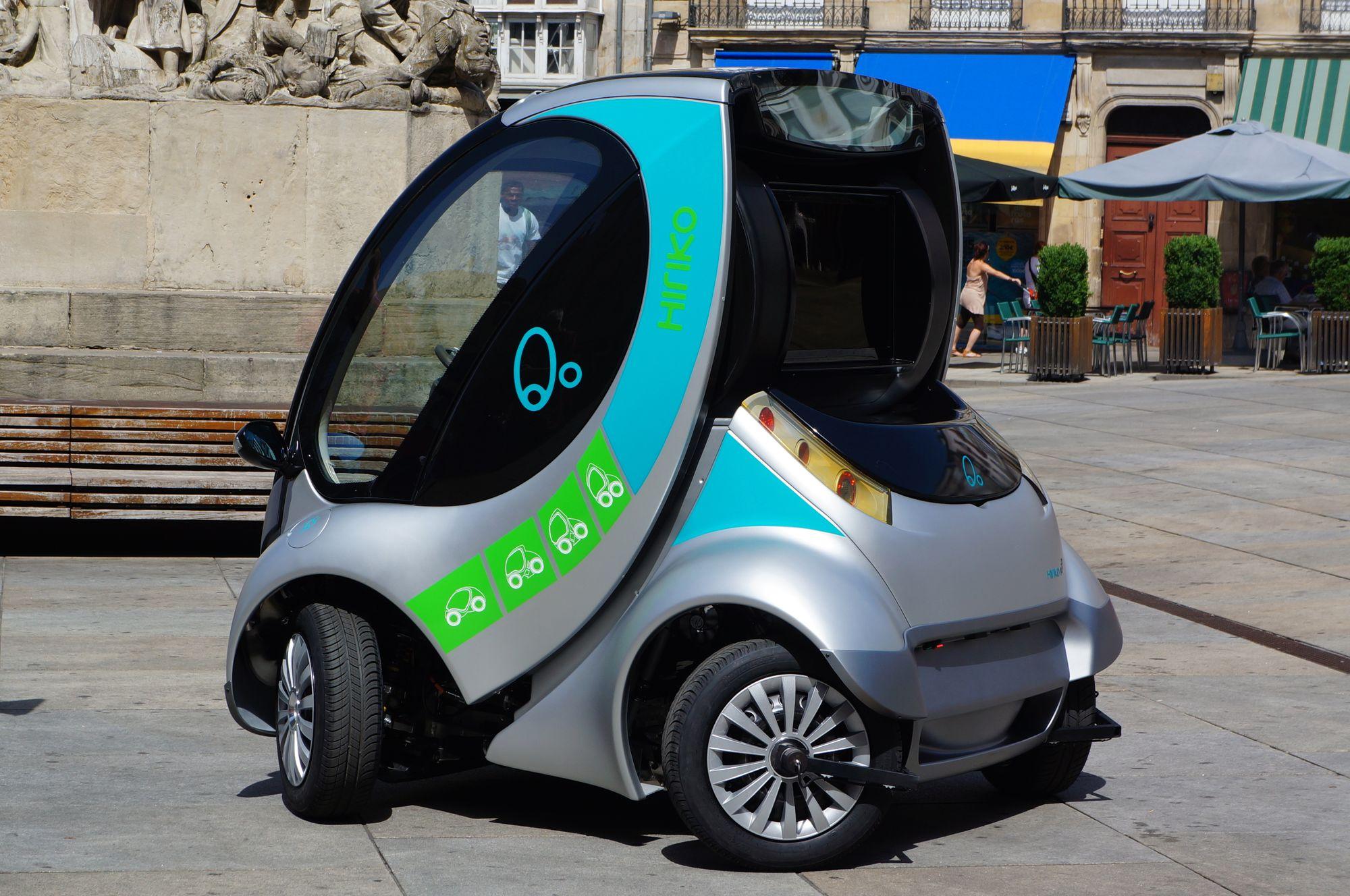 eco-friendly ηλεκτρικό αυτοκίνητο