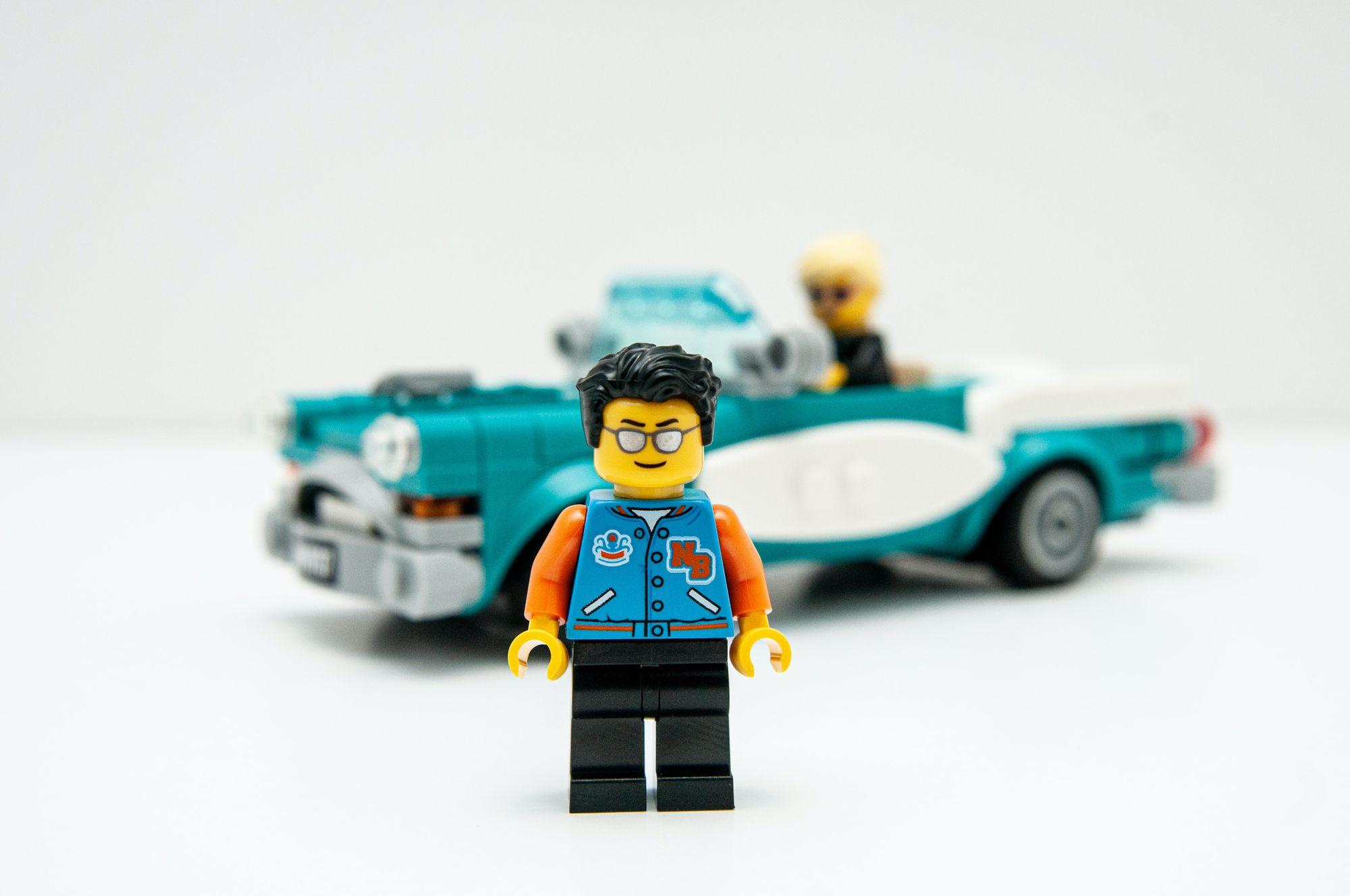 φιγούρα playmobli με αυτοκίνητο