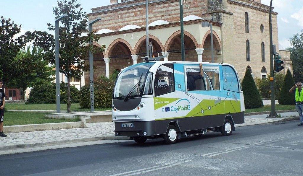 αυτόνομο λεωφορείο στα Τρίκαλα