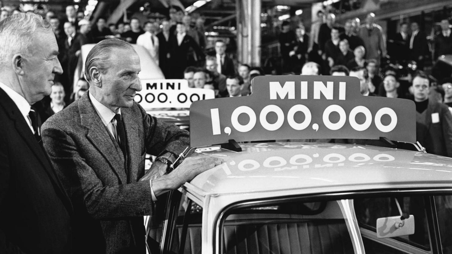 Ο Ισιγώνης σε εκδήλωση για την απήχηση των Morris Mini Minor