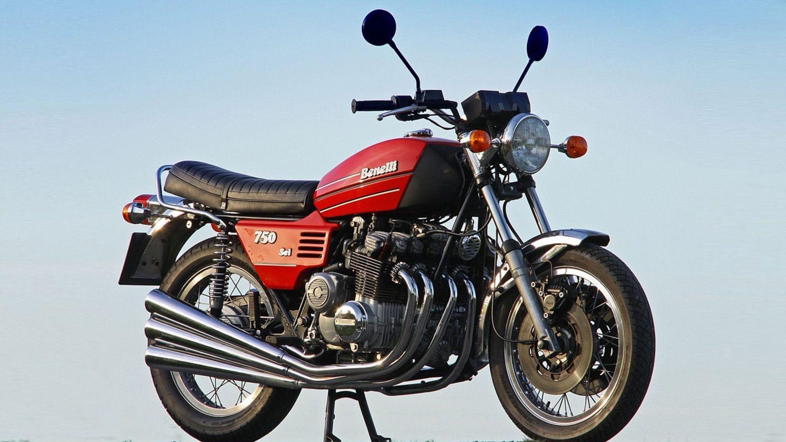 Κόκκινη Benelli 750
