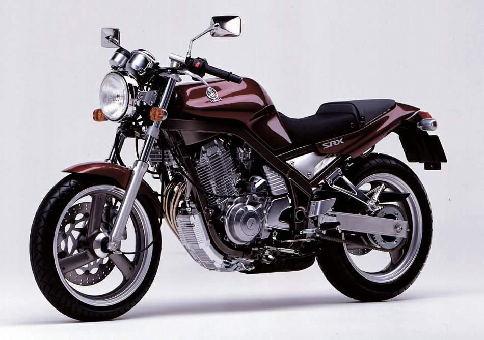 Μπορντώ Yamaha Srx 600