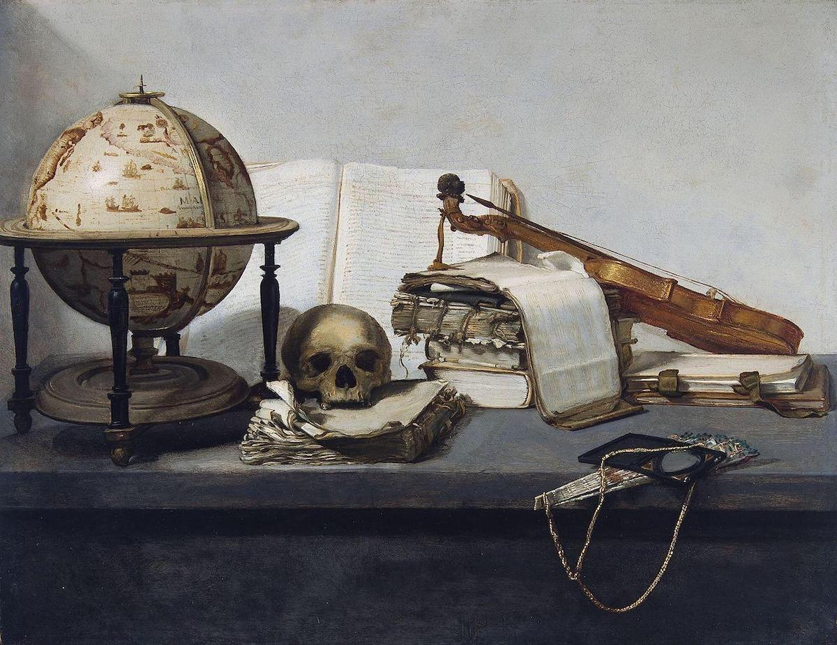 """Η """"νεανική ζωή"""" του Jan Davidsz van Heem 1650"""