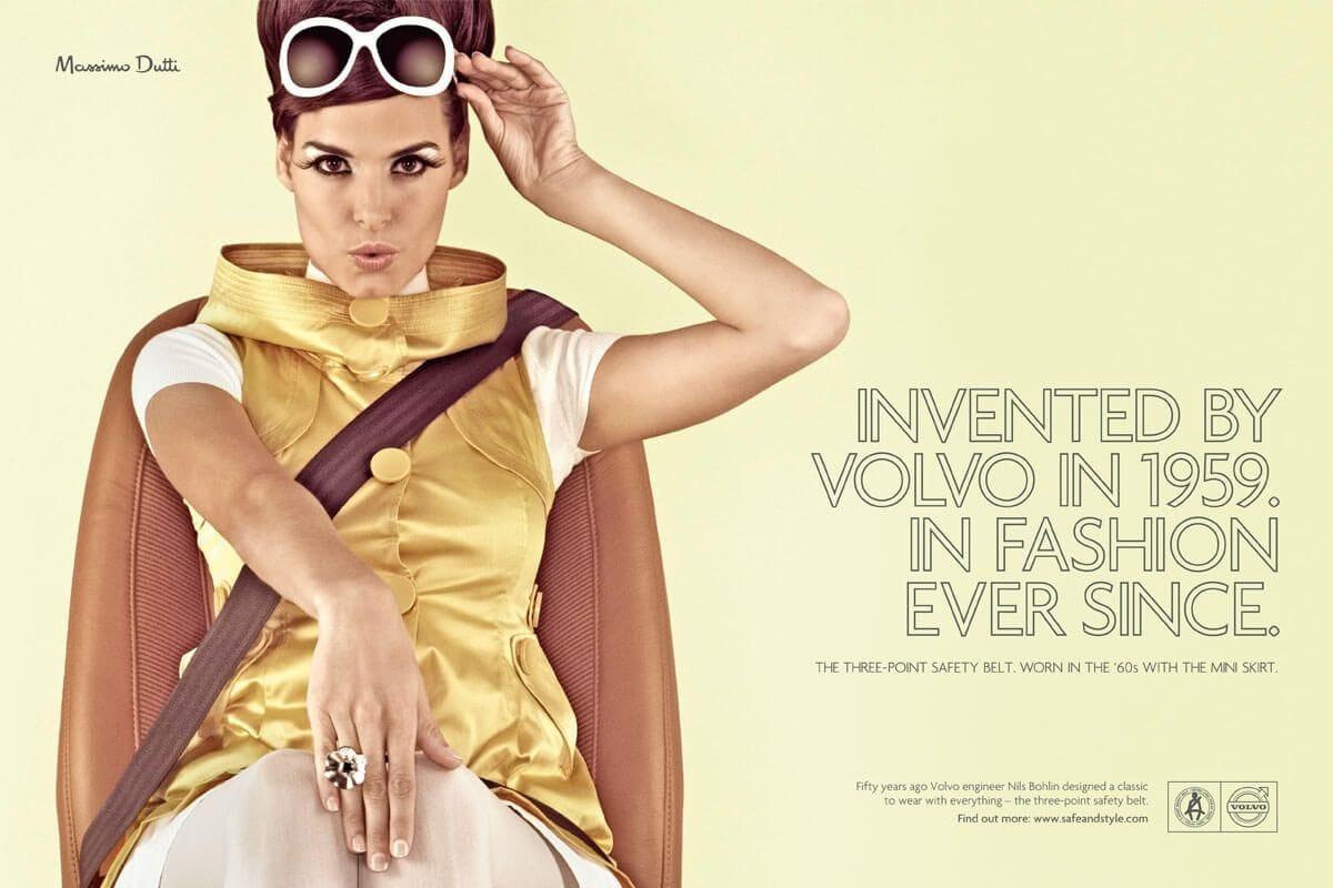 Διαφήμιση της Volvo για τη χρήση της ζώνης ασφαλείας