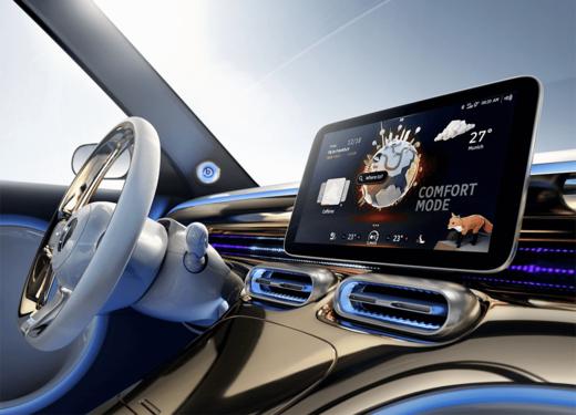 Εσωτερικό αυτοκινήτου με οθόνη